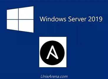 Ansible - Configure Windows servers as Ansible Client