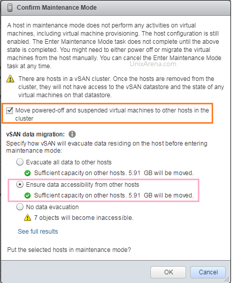 Migrate the vSAN data to Another hosts